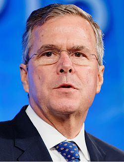 Governor of Florida Jeb Bush at Southern Republican Leadership Conference, May 2015 by Michael Vadon 02.jpg