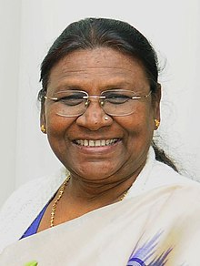 Governor of Jharkhand Draupadi Murmu in December 2016.jpg