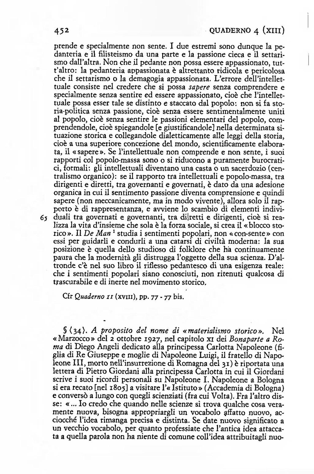 pagina gramsci quaderni del carcere einaudi