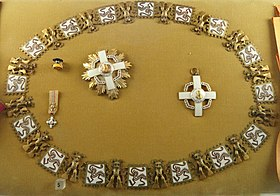Grand Collar of the Order of Manuel Amador Guerrero (Panama) - Memorial JK - Brasilia - DSC00381.JPG