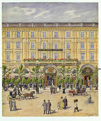 Janus Laurentius Ridter - Image: Grand Hotel National by J.L. Ridter