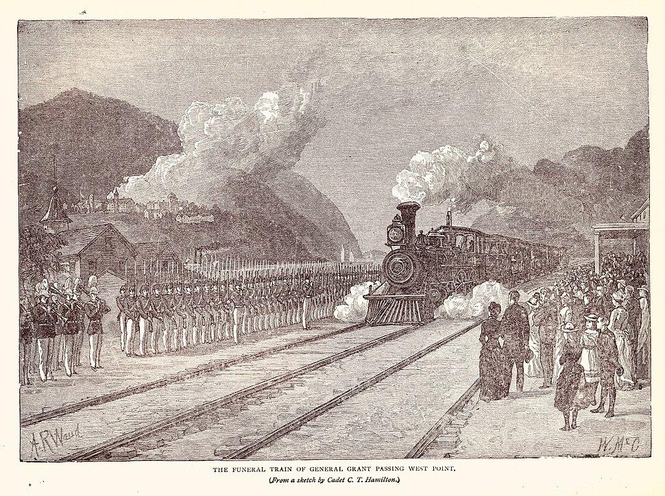 Grant Funeral Train3