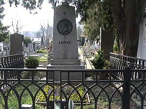 Nikolaus Lenau - Lenau's Grave in Weidling, Austria