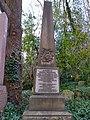Grave of David Nasmith's wife in Highgate Cemetery (west).jpg