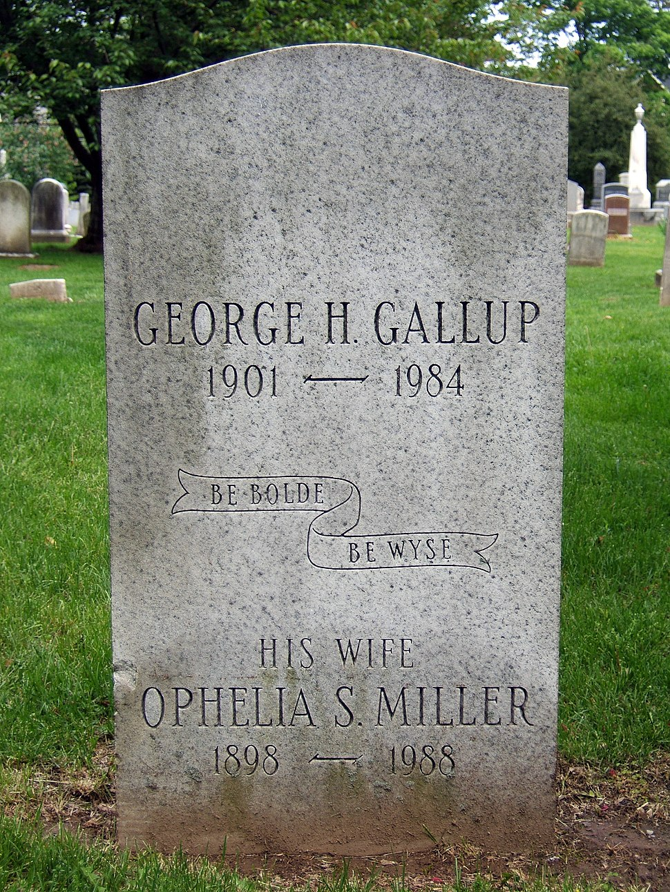 Grave of George H. Gallup