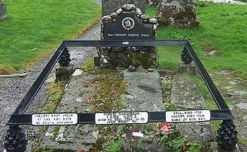 Grave of Rob Roy MacGregor