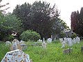 Gravestones at St Peter's, Britford - geograph.org.uk - 465319.jpg
