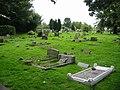Graveyard at Lyminge church - geograph.org.uk - 960679.jpg