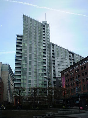 Great Northern Tower - Image: Great Northern Tower Manchester