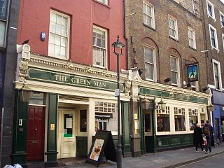 The Green Man, Soho City of Westminster, Greater London, W1F