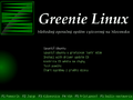 Greenie 1 beta - GRUB splash screen.png