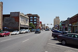 Greenville, Texas - Lee Street in downtown Greenville