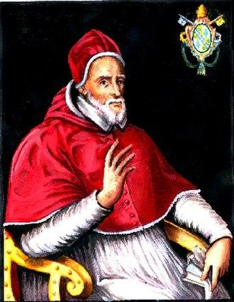 Pope Gregory XIV - Image: Gregorio PPXVI