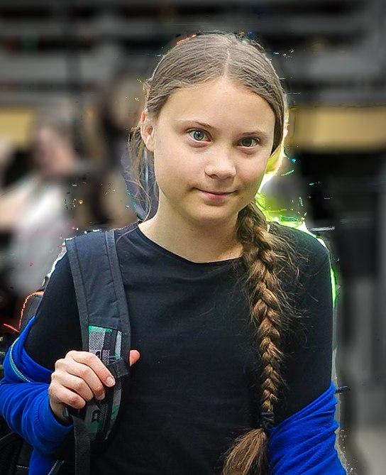 Greta Thunberg in Global Strike for Climate 2019 -2