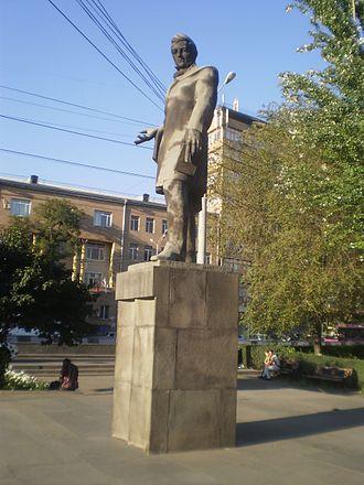Alexander Griboyedov - Griboyedov's statue in Yerevan, Armenia