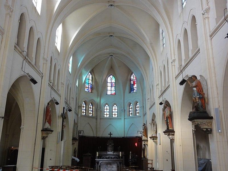 Gricourt (Aisne) église