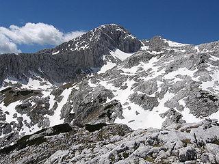 Grintovec mountain