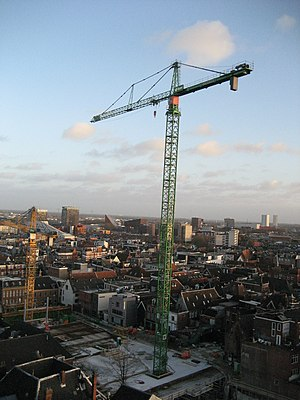 Royal BAM Group - BAM towercrane in Groningen
