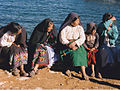 Group women taquile island Peru.jpg