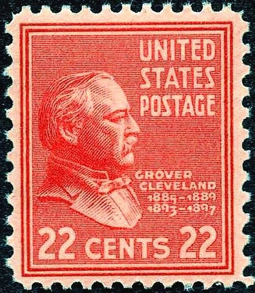 Grover Cleveland 1938 Issue-22c