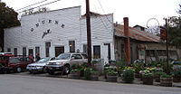 Gruene Hall in Gruene, Texas, United States lo...