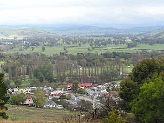 Gundagai Town in New South Wales, Australia