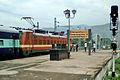 Guntur bound Simhadri Express at Visakhapatnam.jpg