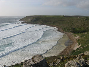 Whitesand Bay - Gwynver Beach
