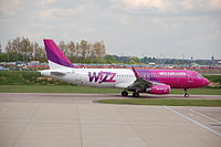 HA-LWR - A320 - Wizz Air