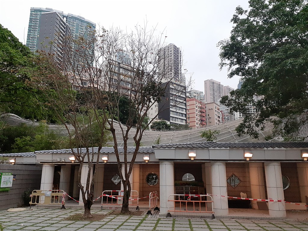 HK 中環 Central 金鐘 Admiralty 香港公園 Hong Kong Park 抗非典肺炎紀念公園 Fighting SARS Memorial Architectural Scene April 2020 SS2 16.jpg