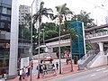 HK 香港 Admiralty 金鐘道 Queensway October 2018 SSG 行人天橋 footbridge n lift.jpg
