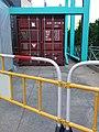 HK CWB 銅鑼灣 Causeway Bay 維多利亞公園 Victoria Park 香港工展會 HKBPE container store room n metal fences December 2019 SSG.jpg