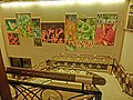 HK North Point 北角 城市花園 City Garden Hotel stairs n wall pictures Mar-2013.JPG
