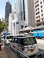 HK SYP 西營盤 Sai Ying Pun 德輔道西 Des Voeux Road West 傳媒 記者 media reporters near Police Station August 2020 SS2 07.jpg