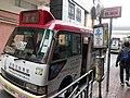 HK SYP 西環 Sai Ying Pun 德輔道西 Des Voeux Road West public light minibus stop 修打蘭街 Sutherland Street April 2020 SS2 09.jpg