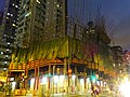 HK Sai Ying Pun Western Street evening Dec-2015 Third Street construction site DSC.JPG