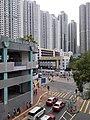 HK TKO 將軍澳 Tseung Kwan O 唐俊街 Tong Chun Street footbridge view November 2019 SS2 04.jpg