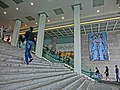 HK TST Harbour City front stairs view Marco Polo Hotel Lane Crawford Mar-2013.JPG