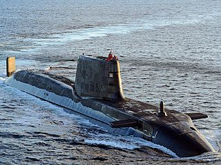 HMS <i>Ambush</i> (S120) Astute-class nuclear fleet submarine of the Royal Navy