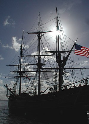 HMS Bounty To Dock In Annapolis
