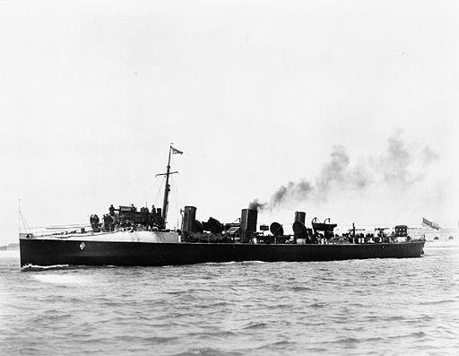 HMS Chamois (1896) IWM Q 038460
