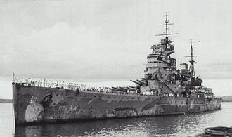 King George V-class battleship (1939) - Prince of Wales