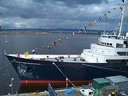 HMY-Britannia-Bow