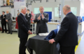 HRH The Duke of York , ITM Power Non Executive Chairman Prof Roger Putnam and ITM Power CEO Dr Graham Cooley.tif
