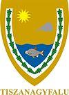 Huy hiệu của Tiszanagyfalu