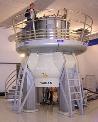 Resonance - NMR Magnet at HWB-NMR, Birmingham, UK. In its strong 21.2-tesla field, the proton resonance is at 900 MHz.