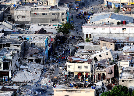 devastating earthquake ravaged haiti - HD 2100×1500