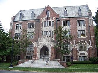 Elmira College Old Campus - Image: Hamilton Hall