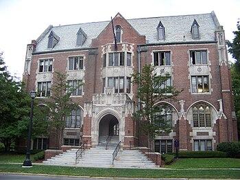 English: Hamilton Hall, Elmira College, Elmira...