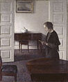 Hammershoi - Interior with a Reading Lady.jpg